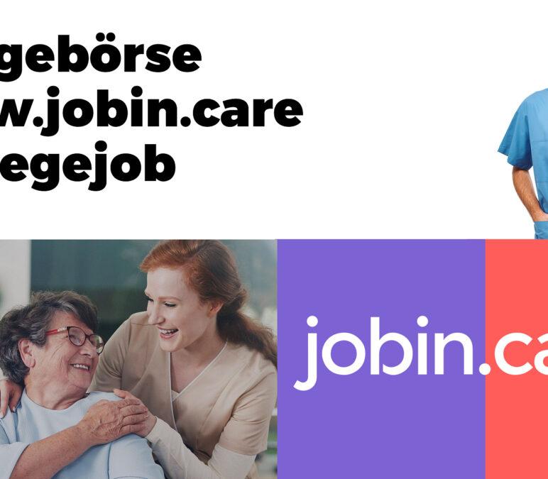 Im Mai über 550 Jobs in der Pflege veröffentlicht
